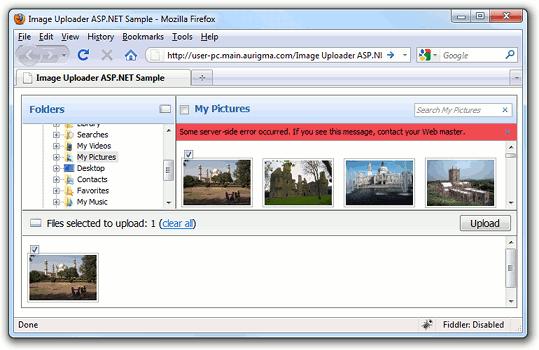 Debugging ASP NET ActiveX/Java Upload Scripts - Upload Suite 8