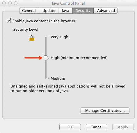 The Java applet does not upload files