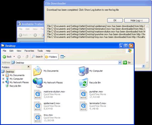 my file downloader