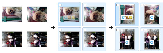 Rotate several images in a single click before you upload images